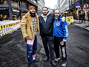 GJENG-KRISESENTER: Wold, Ali og Rasool ser at dagens hjelpeapparat ikke er i stand til å hjelpe unge kriminelle.