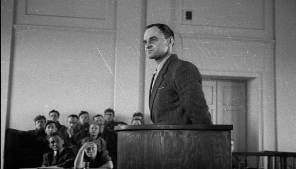 WITOLD PILECKI: Den tidligere polske offiseren dro frivillig til Auschwitz for å fortelle om forholdene i konsentrasjonsleir. Likevel var han fram til 90-årene kjent som landssviker. Foto: AP