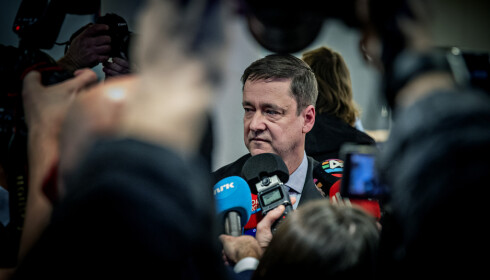ADVOKAT: John Christian Elden representerer Aylar Lie i retten mandag. Foto: Bjørn Langsem / Dagbladet