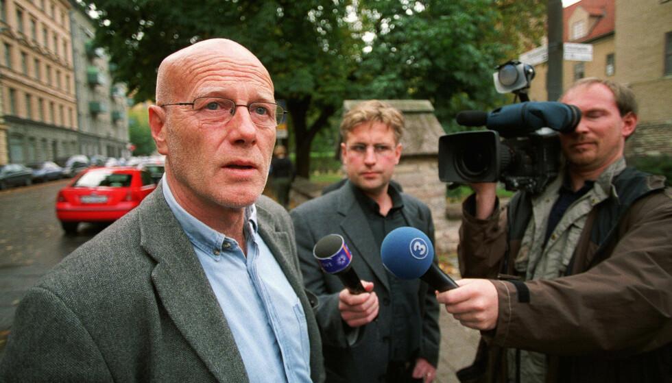 FRIKJENT: Christer Pettersson ble tiltalt og frikjent for attentatet i Sveavägen kvelden 28. februar 1986. Foto: Foto: Mats Andersson / NTB scanpix