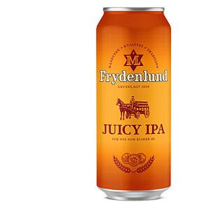 FRISK: Også Frydenlund kommer med en ny og friskere IPA-variant i vår: Juicy IPA.
