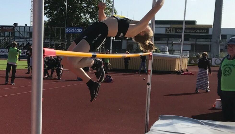 ALLSIDIG: Henriette satser egentlig på mangekamp, men mener hun er best i sprint. Foto: PRIVAT
