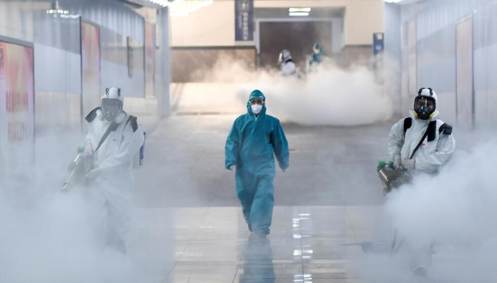 «SUPERSPREDET»: En britisk forretningsmann antas å ha smittet elleve andre briter. Han omtales nå som en «superspreder». Foto: Reuters / NTB Scanpix