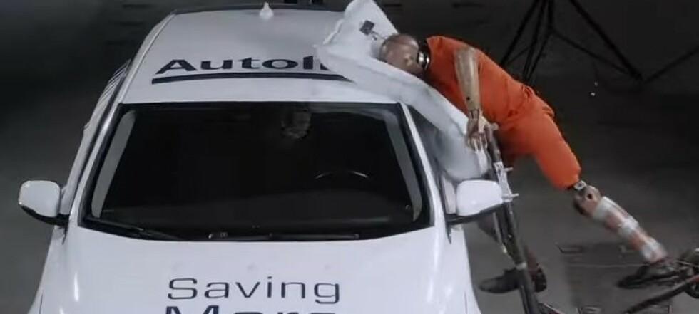 Utvikler airbag for el-sparkesykkel
