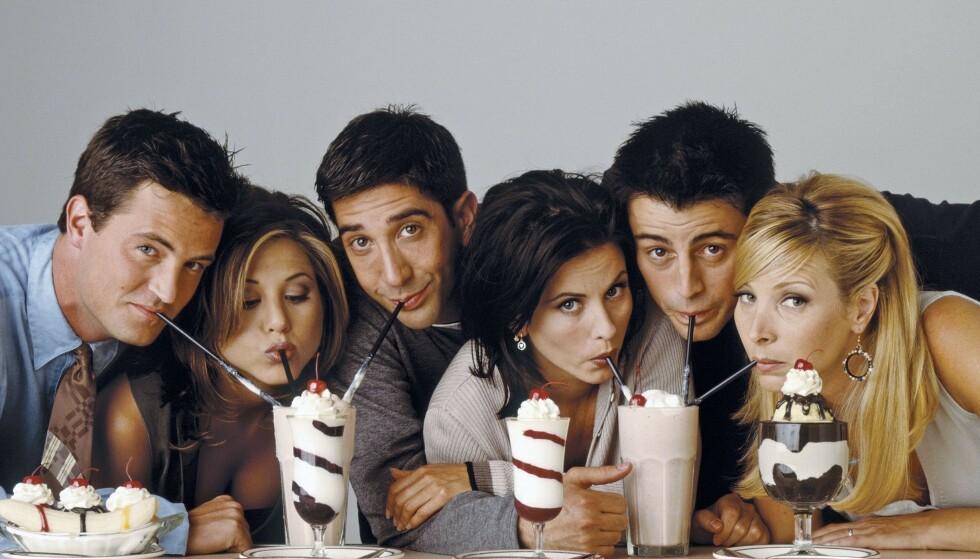 """UTSETTES: Innspillingen av en gjenforeningsepisode av TV-serien """"Friends"""" er utsatt. Foto: NTB Scanpix"""