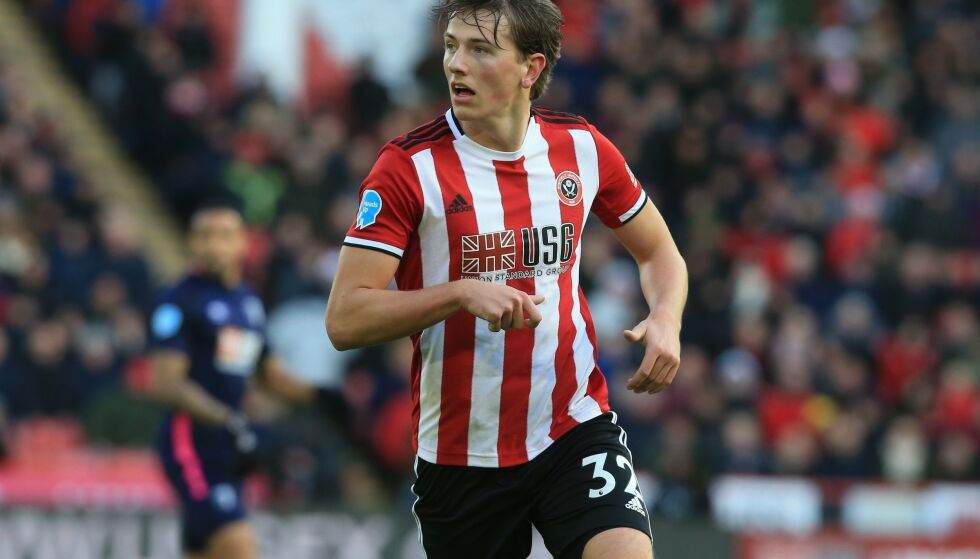 DEBUTERTE: Sander Berge fikk sin hjemmedebut for Sheffield United. Foto: Lindsey Parnaby / AFP