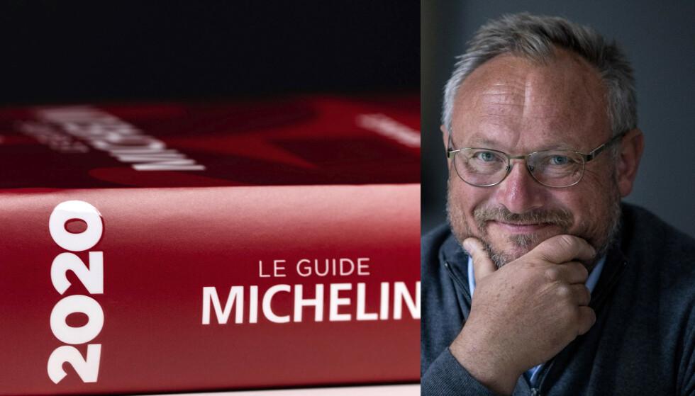 MATGUIDEN: Førstkommende mandag får vi vite hvem som havner i den ettertraktede Michelin-guiden. I Norge er det særlig knyttet spenning til om Maaemo mister alle stjernene. Bent Stiansen trekker fram À L'aise som en het kandidat. Og, hva med Bergen? De har aldri hatt en Michelin-stjerne. Foto: Scanpix