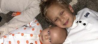 Brødre rammet av samme kreftsykdom