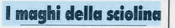 """Hyllest: """"Skismøringens magikere"""" het det i en tittel i italienske La Stampa - om Manfredinis jobb med skiene som sørget for italienske gull i VM i 1987. Hemmeligheten var selvsagt fluoren."""
