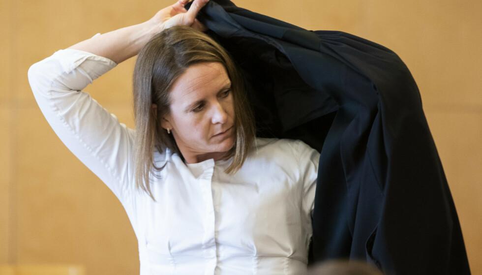 KRITISK: Romkvinnens advokat Nora Hallén i Advokatfirmaet Elden. Foto NTB Scanpix