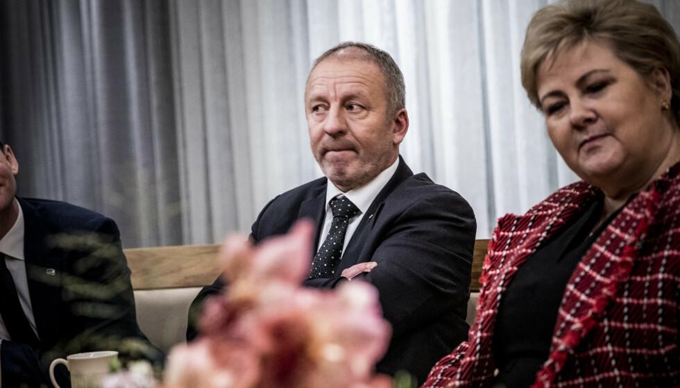 VIL BETALE TILBAKE: Geir-Inge Sivertsen (H) sier han vil betale tilbake etterlønn han ikke skulle hatt. Foto: Christian Roth Christensen