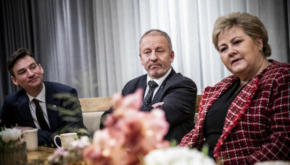 HØYRETOPP I PROBLEMER: Geir Inge Sivertsen ble ny fiskeriminister i januar. Da hadde han allerede hentet lønn som både statssekretær og ordfører i to måneder. Foto: Christian Roth Christensen / Dagbladet