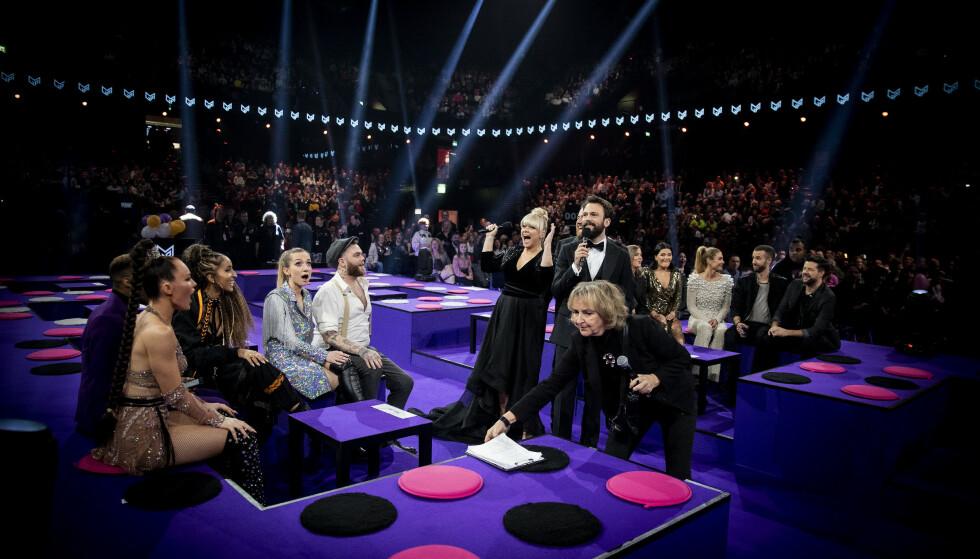 SKANDALEFINALE: Artistene skal ha blitt informert tidlig i januar om at ved en krisesituasjonen vill en folkejury bedømme låtene, basert på sangenes studioversjon. Foto: Bjørn Langsem / Dagbladet.