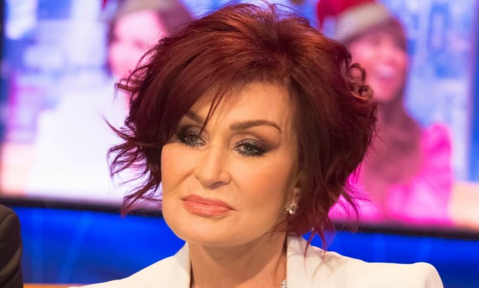 FORVANDLING: Sharon Osbourne har kvittet seg med signaturlooken sin. Foto: NTB scanpix