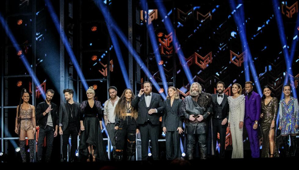 FOLKEJURY: Det er var en jury på 30 personer som bestemte hvilke av MGP-artistene som gikk videre til sølvfinale. Foto: Bjørn Langsem / Dagbladet