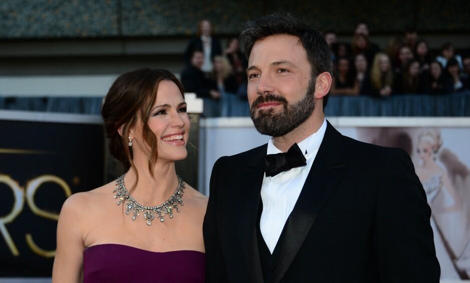 EKSER: Ben Affleck og Jennifer Garner ble offisielt skilt i 2018, noe Affleck selv skulle ønske aldri hadde skjedd. Foto: NTB Scanpix