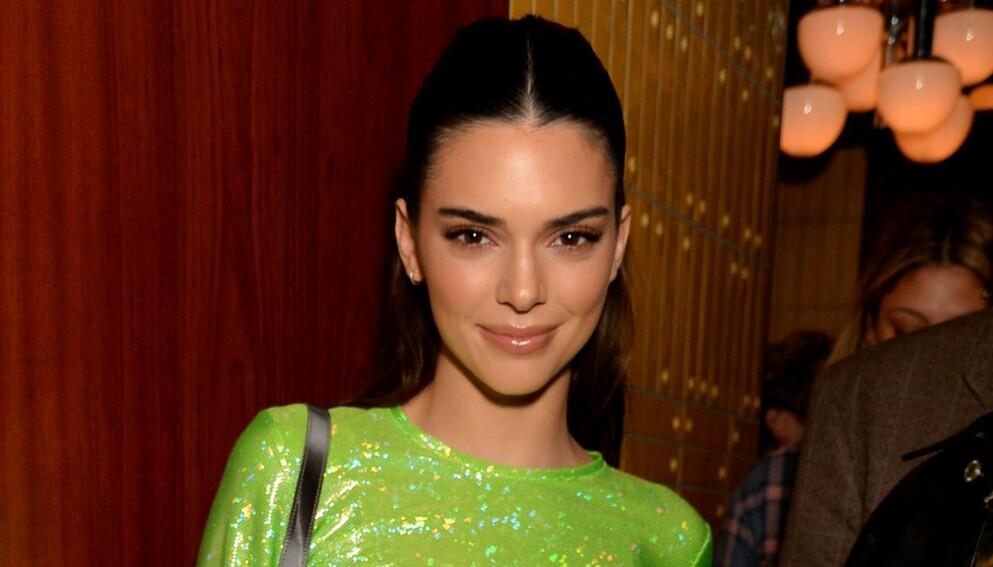ANGST: Supermodellen og realitystjernen Kendall Jenner åpner seg om angstlidelsen, som til tider har gjort at hun føler at hun skal dø. Foto: Richard Young / Shutterstock / NTB