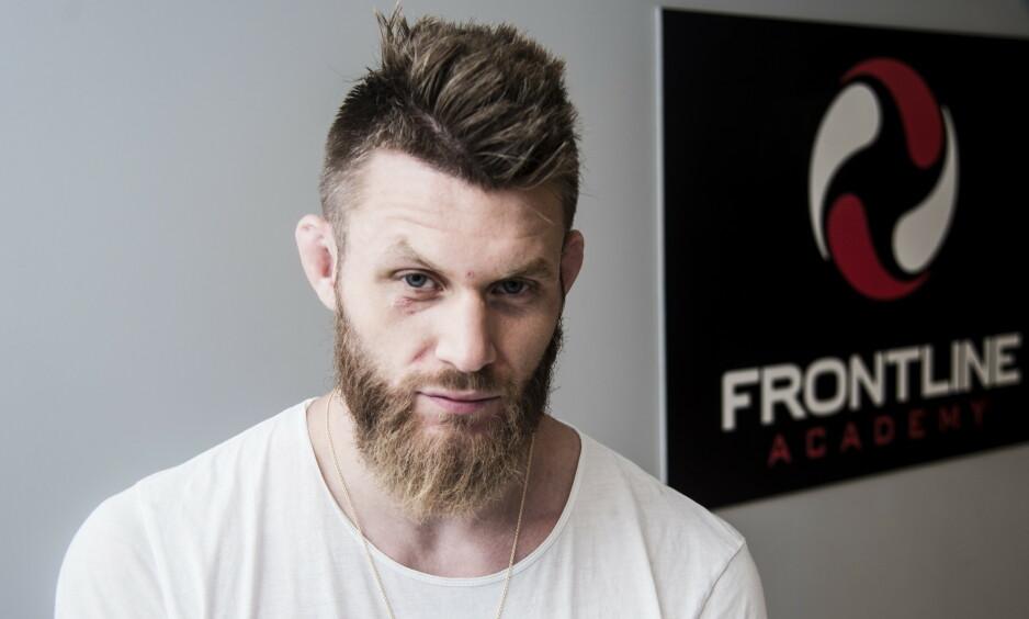KLAR FOR KAMP: Emil Meek møter australske Jake Matthews i UFC lørdag kveld. Foto: Andreas Lekang / Dagbladet