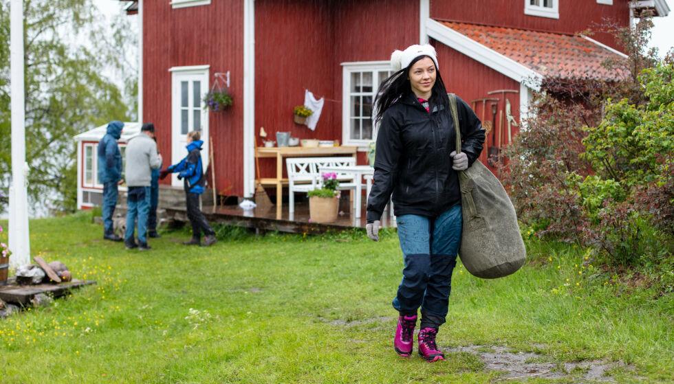 - SAVN: Bakken forteller i programmet at hun savnet både kjæresten sin og normal mat. Foto: Alex Iversen / TV 2