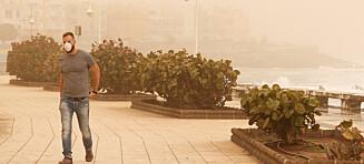 Svært høy luftforurensning på Kanariøyene