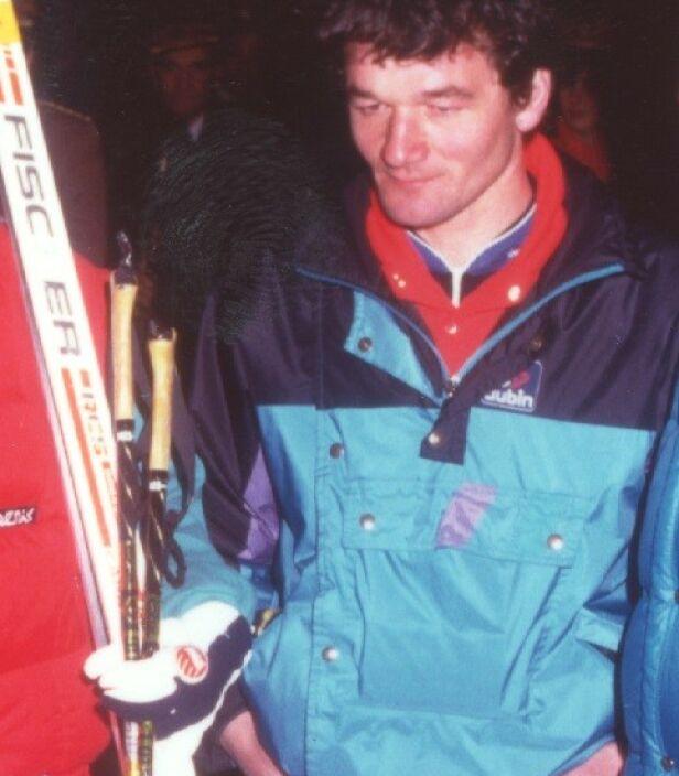 Nøkkelmannen: Paolo Manfredini var den første langrenssmøreren i verden som fikk tilgang på fluor-skismøring. Vidundermiddelet hjalp han Swix med å teste ut. Foto: Gazzetta di Modena