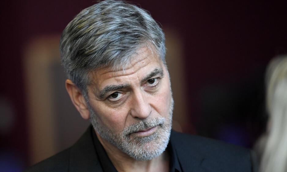 AMBASSADØR: George Clooney er ambassadør og ansikt utad for Nespresso. Nye avsløringer rundt firmaet skal derimot ha gjort han sjokkert og rystet. NTB: Scanpix