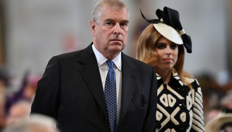 KAN IKKE TVINGES: Eksperter mener USA ikke kan tvinge prins Andrew til å vitne om Jeffrey Epstein. Foto: REUTERS/Ben Stansall/File Photo