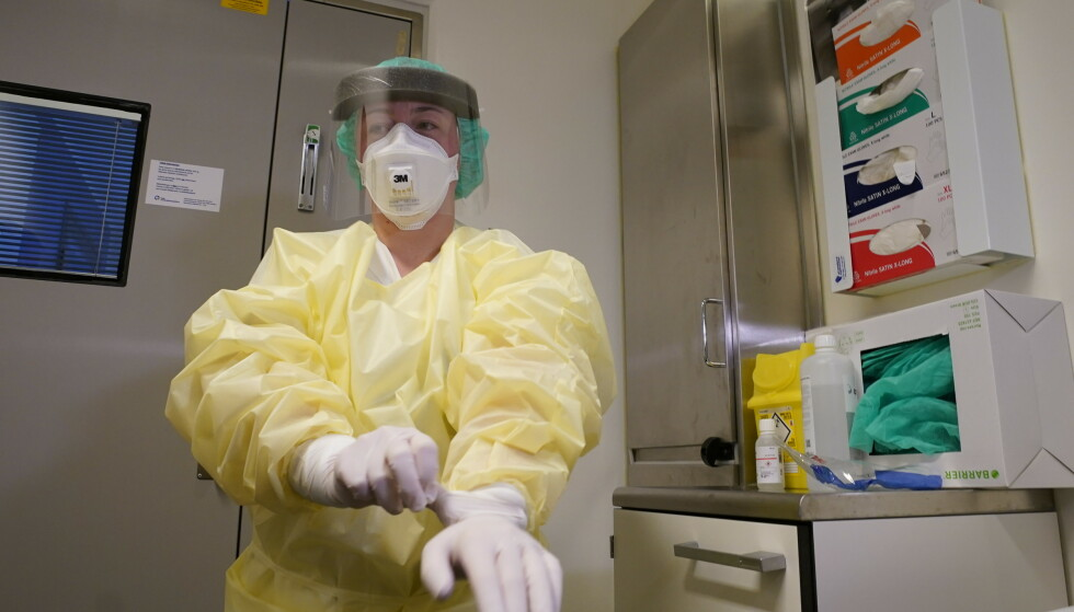 KOMMER HIT: Personer som blir syke av coronaviruset blir innlagt på Ullevål sykehus. Foto: Heiko Junge / NTB scanpix