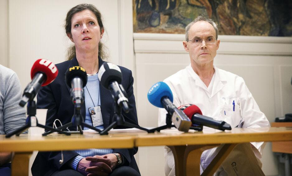 CORONAVIRUS: Medisinsk direktør ved Ullevål sykehus erkjenner at den første ansatte som ble smittet, burde ha vært testet tidligere. Foto: Henning Lillegrd/Dagbladet