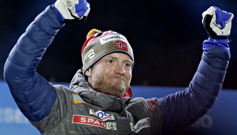 VIL ALDRI FÅ HOLMENKOLLMEDALJEN: Martin Johnsrud Sundby ble individuell verdensmester i Seefeld, men vrakes igjen til Holmenkollmedaljen grunnet statuttene. Foto: Bjrn Langsem / Dagbladet