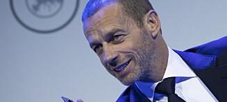 UEFA utsetter finalene i Champions League og europaligaen