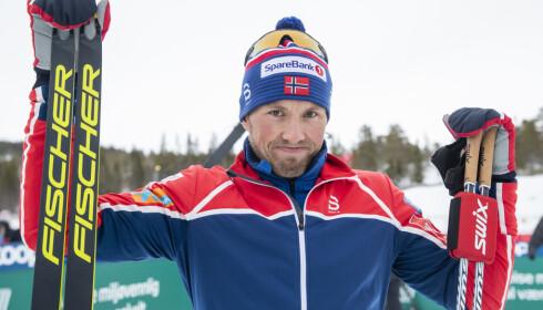 FORSTÅR FORSLAGET:  Emil Iversen erkjenner at kvotekutt kan være positivt for langrennssporten, selv om det kan være negativt for ham. Foto: Terje Pedersen / NTB scanpix