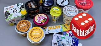 Yoghurt-test: - Her stemmer alt!