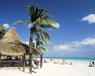 MEXICO: I 2100 kan strandferien se annerledes ut enn i dag. Patrick Frilet/REX