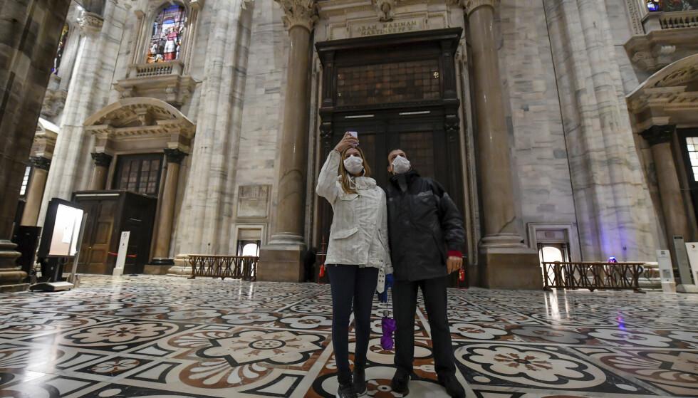 FRARÅDER REISE: UD fraråder nordmenn å reise til fire regioner i Italia, deriblant Lombardia, der Milano (bildet) ligger. Foto: NTB scanpix
