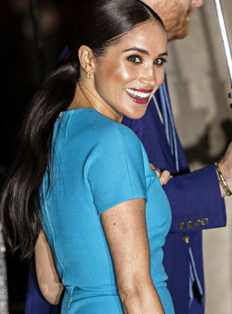 Mandatory Credit: Photo by Rupert Hartley/Shutterstock (10575205x) Meghan Duchess of Sussex 4th Endeavour Fund Awards, Mansion House, London, UK - 05 Mar 2020 The Duke and Duchess of Sussex attend the annual Endeavour Fund Awards. Their Royal Highnesses celebrate the achievements of wounded, injured and sick servicemen and women who have taken part in remarkable sporting and adventure challenges over the last year. The Endeavour Fund supports the ambitions of these men and women to use challenges to help with their physical, psychological and social recovery and rehabilitation. The annual awards, now in their fourth year, brings together hundreds of wounded, injured and sick Service personnel and veterans as well as their families, friends and supporters of the military community. The awards ceremony, which will be hosted by former Invictus Games medallist JJ Chalmers, will see four prizes awarded on the night: Recognising Achievement Award, Celebrating Excellence Award, Henry Worsley Award and The Community Impact Award, a brand-new award for this year Wearing Victoria Beckham