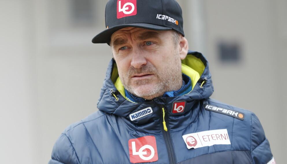 SÅ MØRKT PÅ DET: Sportssjef Clas Brede Bråthen. Foto: Geir Olsen / NTB