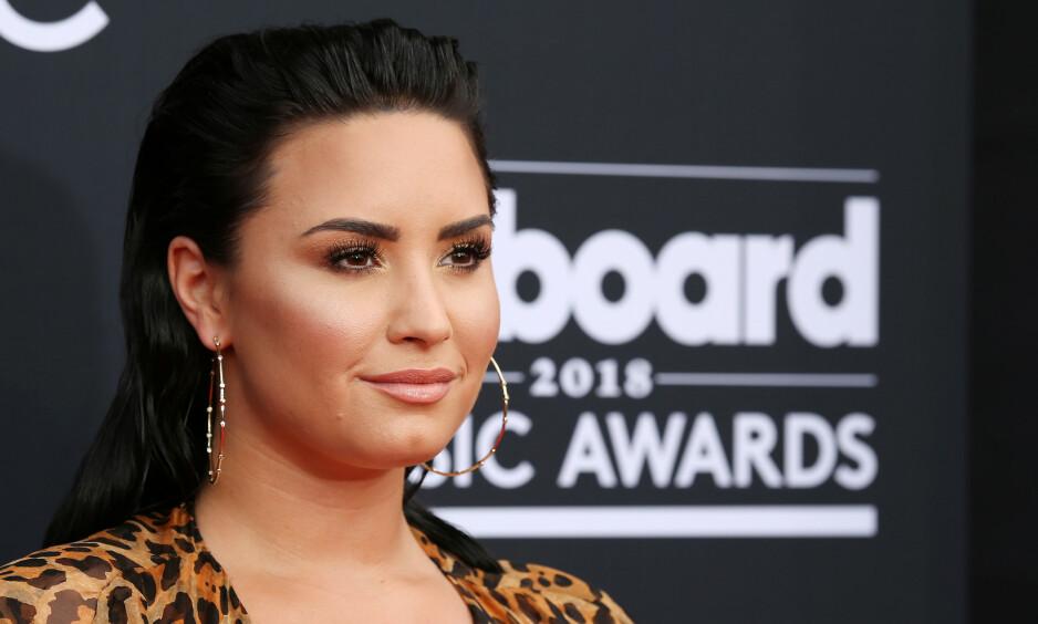 LETTER PÅ SLØRET: Demi Lovato snakker ut om blant annet spiseforstyrrelser og rusproblemer i et nytt intervju. Foto: NTB Scanpix