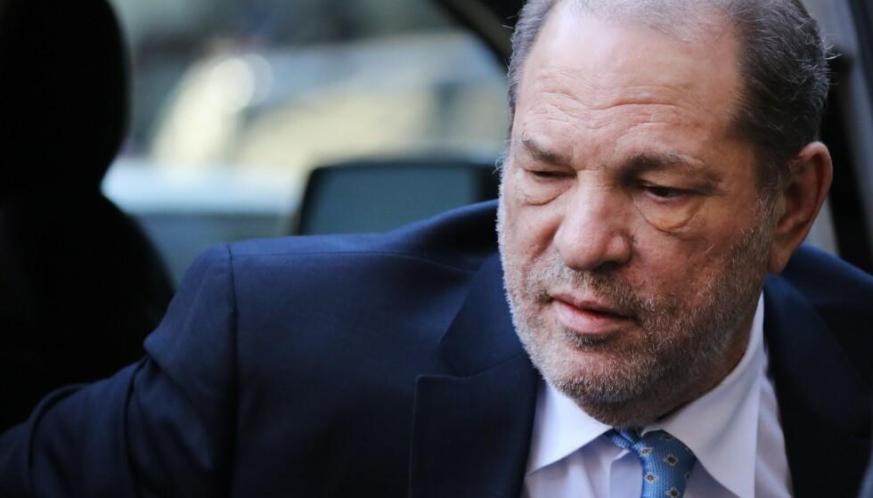 SKADD: Overgrepsdømte Harvey Weinstein skal ha skadet seg etter bare tre dager bak murene. Foto: Spencer Pratt / AFP / NTB Scanpix