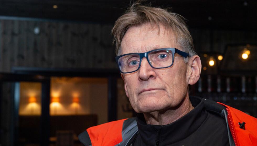 KRITISK: Overlege Mads Gilbert mener norske myndigheters smitteverntiltak har kommet til kort. Foto: Øistein Norum Monsen / Dagbladet