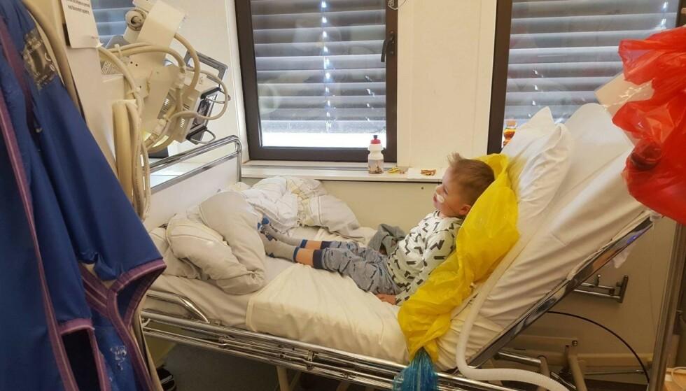 UTSATT: Sønnen min ble ikke gjenopplivet i 2012 for at ditt behov for ostepop nå skal true livet hans! Foto: Privat