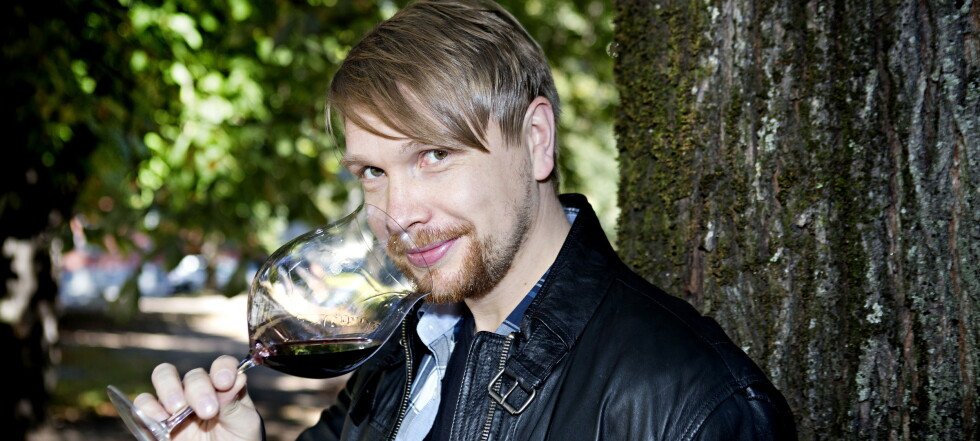 Oslo, 20120907.  Robert Lie, Ny vinekspert i Dagbladet. Jobber p Grefsenkollen i Oslo Foto:Nina Hansen / Dagbladet