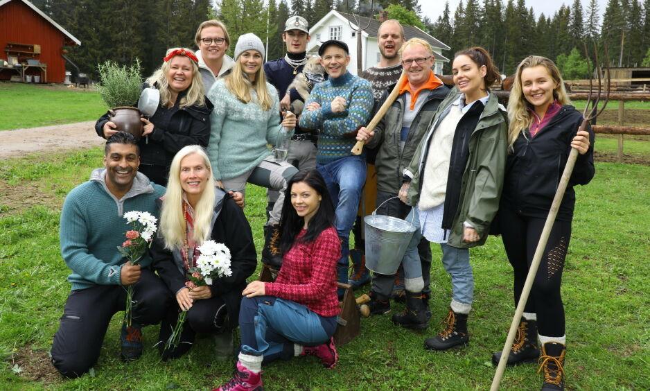 AVLYST: «Farmen kjendis» er bare et av programmene som rammes av de nye tiltakene, der en rekke premiere- og finalefester avlyses. Foto: Morten Eik