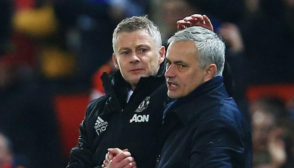 DUELLANTER: Ole Gunnar Solskjær møtte blant annet José Mourinho da sistnevnte var Tottenham-manager. Foto: Matt West/BPI/Shutterstock/NTB