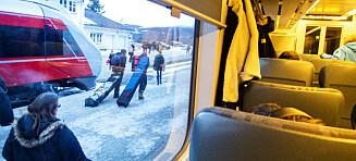 Mann pågrepet etter å ha pustet togpassasjerer i ansiktet