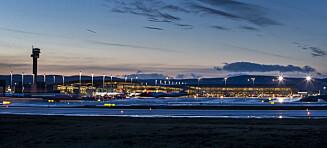 Fly måtte omdirigeres til Oslo
