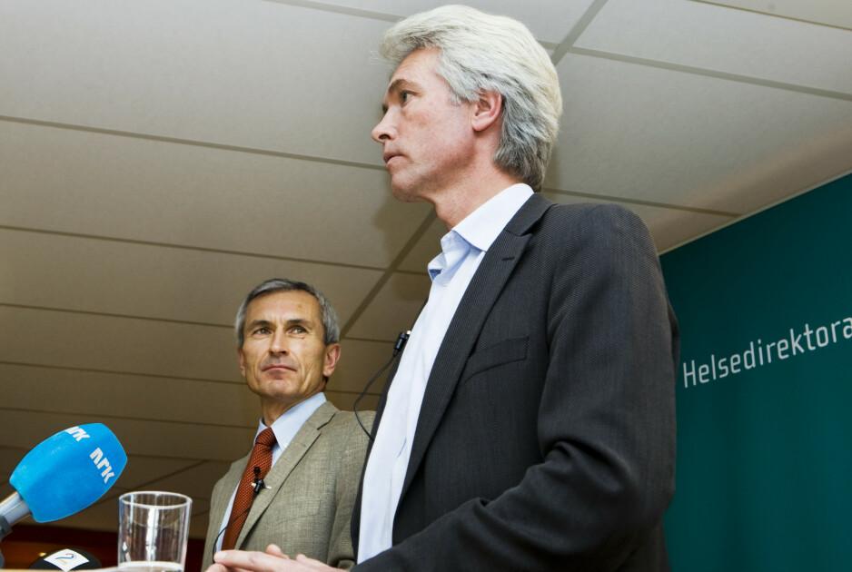 SMITTET: Helsetopp Geir Stene-Larsen er i hjemmeisolasjon etter å ha testet positivt for coronavirus. Foto: Berit Roald/NTB Scanpix
