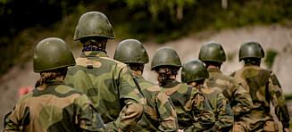 Forsvaret vurderer å dimittere vernepliktige