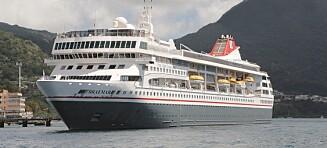 To nordmenn corona-fast på Bahamas-cruise