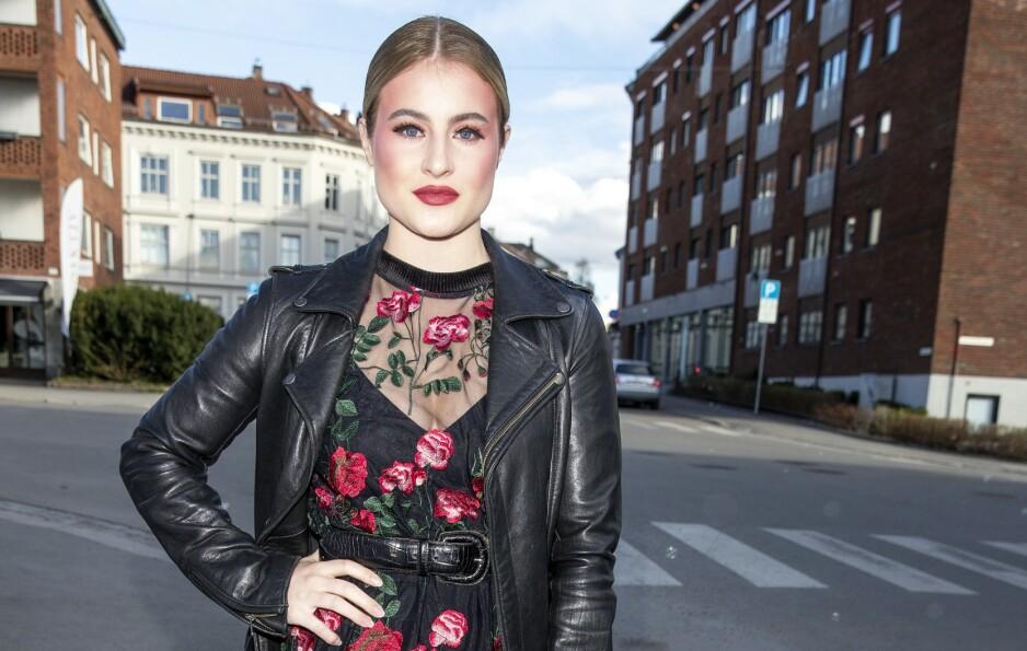 REISTE TIL NORGE: Milliardærarving Katharina Andresen besluttet å reise fra London grunnet coronaviruset. Foto: Andreas Fadum